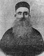 P. Youhanna Labaki, prêtre maronite, baptise Youssef le 8 octobre 1881